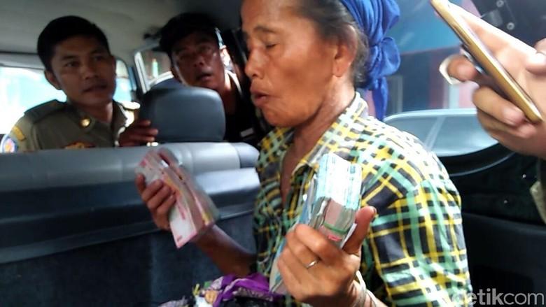 Pengakuan Pengemis Bawa Uang Rp 43 Juta Saat Terjaring Razia