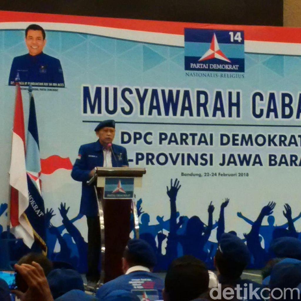 Menangkan Deddy Mizwar, Demokrat Kumpulkan Pengurus Ranting