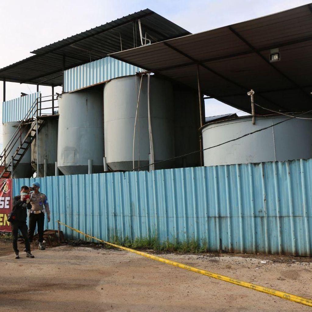 Polda Banten Ungkap Kasus Solar Oplosan Beromset Rp 8 M per Bulan
