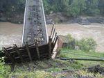 Jembatan Lama Kranggan Temanggung Ambrol