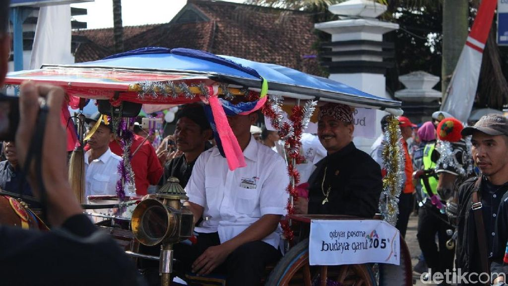 Harapan Menteri Pariwisata Pada Gebyar Pesona Budaya Garut 2018