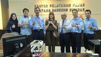 Chika Jessica Sambangi Kantor Pajak Cicadas, Mau Ngapain?