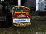 Karangan Bunga Hingga Panggung di KPK Siap Sambut #Novelkembali