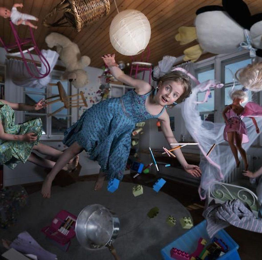Ungkapan Sayang Tak Biasa Ayah Ahli Photoshop Pada 4 Anaknya