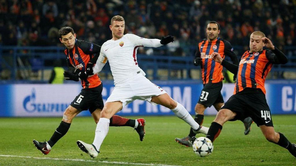 Roma Sementara Memimpin 1-0 atas Shakhtar