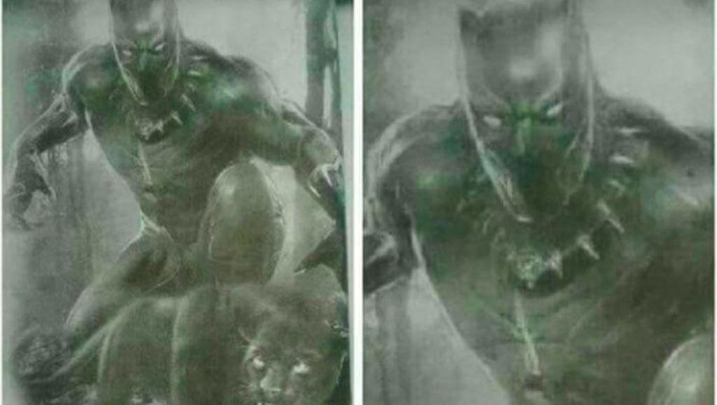 Meme-meme Black Panther Bikin Ngakak
