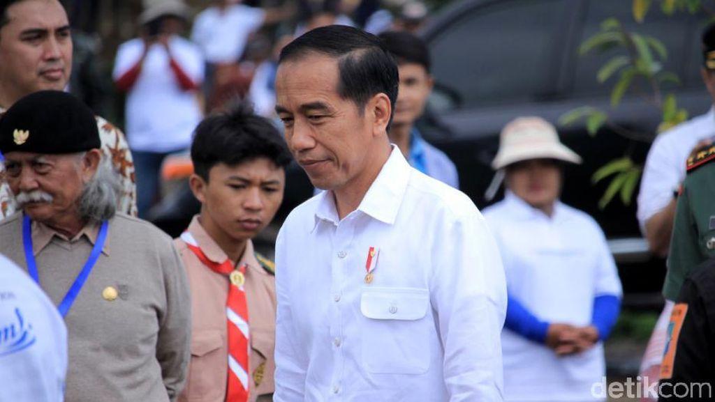 Respons Jokowi Soal Inpres Perdagangan Antar Daerah