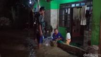 Tanggul Jebol, Permukiman di Paseh Bandung Tergenang Banjir