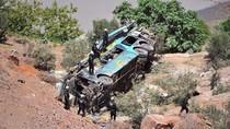 Bus Bertingkat Jatuh ke Jurang di Peru, 44 Orang Tewas