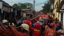 Ruko Sembako di Pulo Gebang Terbakar Akibat Obat Nyamuk
