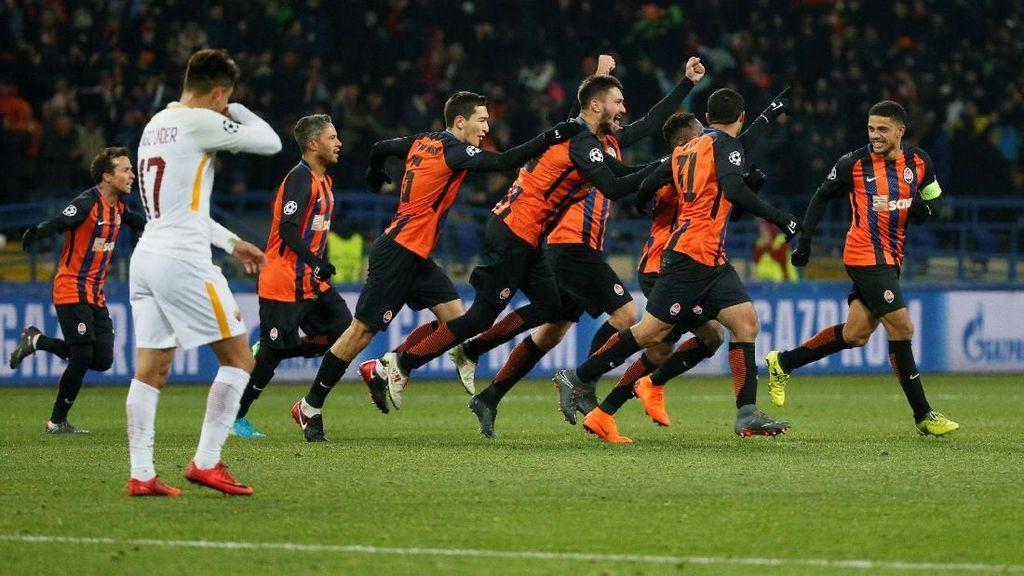 Shakhtar Tundukkan Roma 2-1