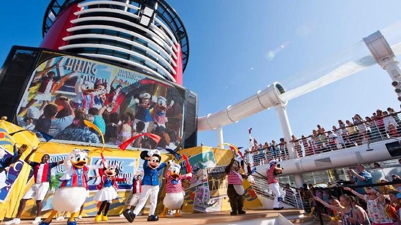 Foto: Kapal pesiar Disney (Disney Cruise Line)