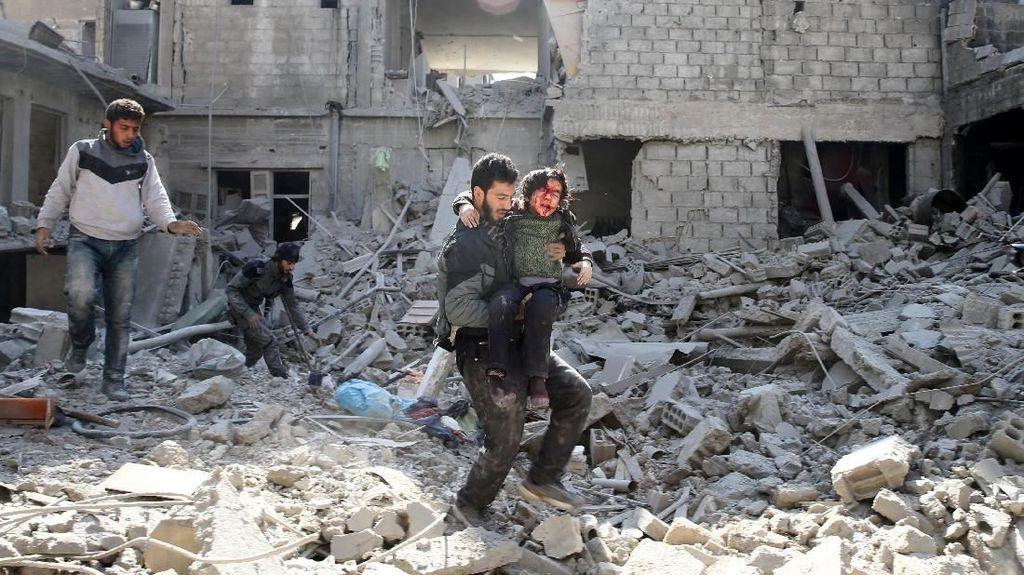 Uni Eropa: Rusia dan Iran Biarkan Kebrutalan Assad di Ghouta Timur