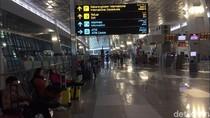 Jelang Kedatangan Novel, Begini Suasana Bandara Soekarno-Hatta
