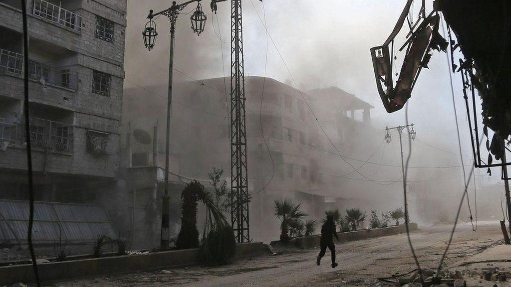 Sekjen PBB: Situasi Ghouta Timur Suriah Seperti Neraka di Muka Bumi