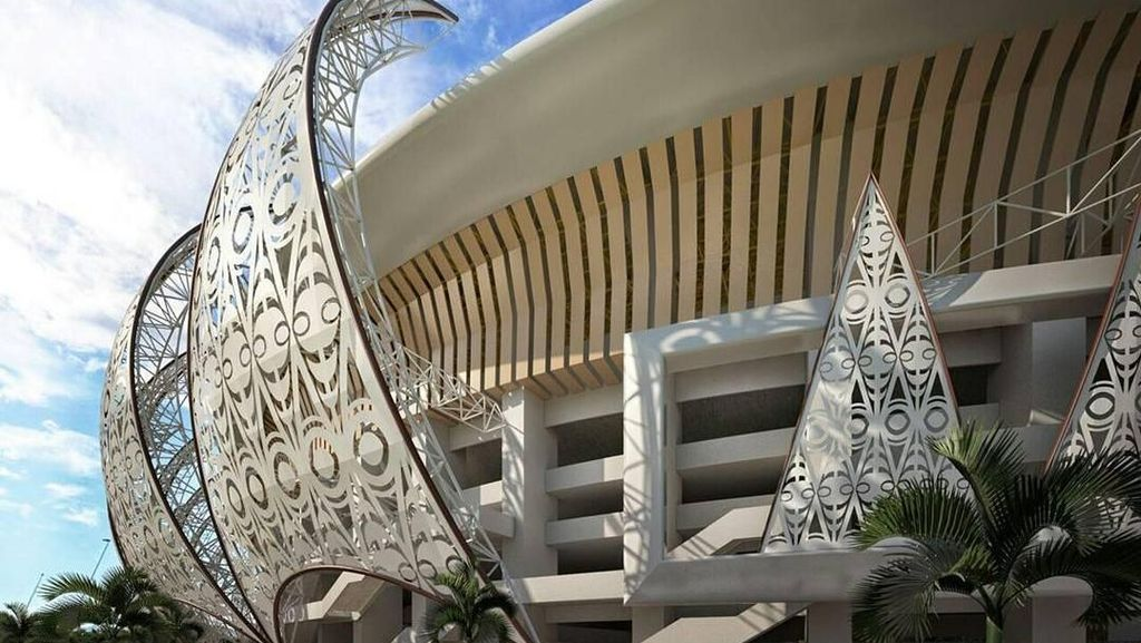 Keren dan Megah, Stadion Papua Bangkit di Timur Indonesia