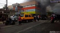 Kebakaran di Matahari Mall Kudus, Arus Lalin dari Jepara Dialihkan