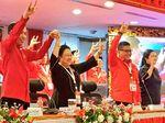 Ditanya soal Pencapresan Jokowi, Megawati Jawab dengan Salam Metal