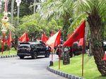 Jelang Pembukaan Rakernas, PDIP Merahkan Bali