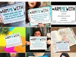 Foto: Guru Ramai-ramai Protes Trump Lewat #ArmMeWith