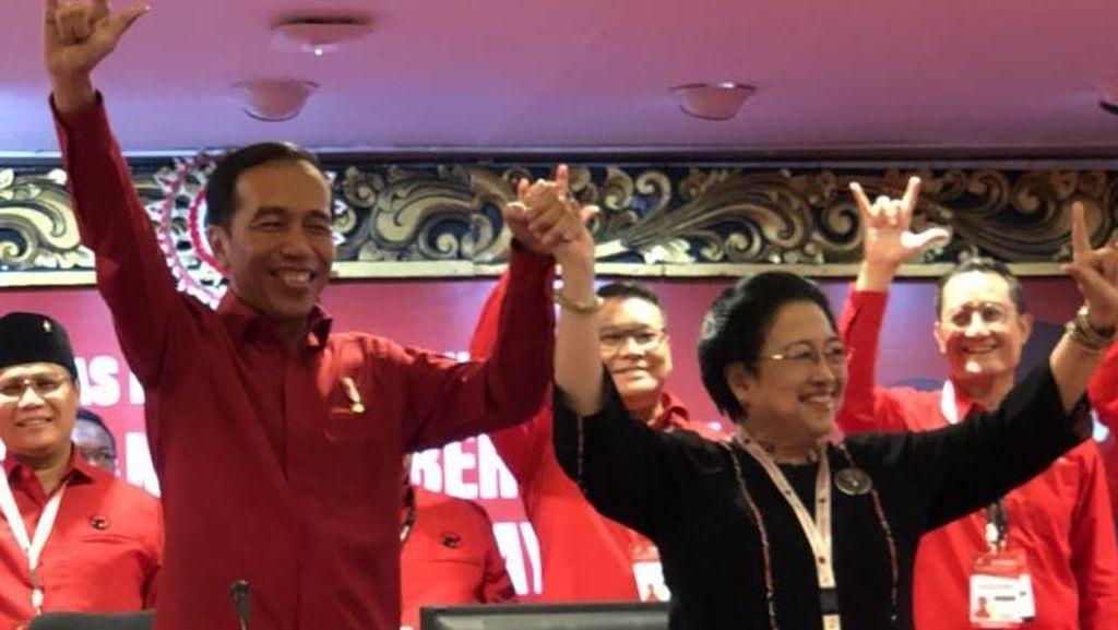 Ini Pesan Megawati ke Jokowi yang Diusung PDIP Jadi Capres 2019