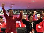 Sambutan Riuh Kader PDIP Saat Mega Umumkan Jokowi Capres 2019