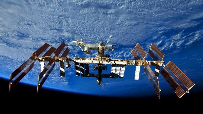 Foto: Ilustrasi International Space Station (ISS) (AFP/GETTY IMAGES)