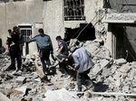 Tragis! 5 Hari Gempuran Suriah di Ghouta Timur Tewaskan 416 Orang