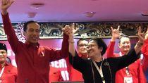 Apa Maksud Jokowi Naikkan Pangkat Megawati?