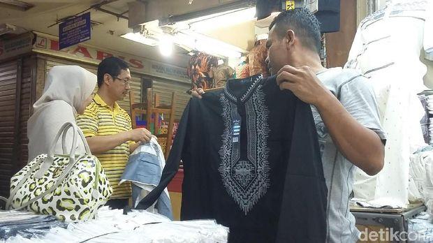 Baju Koko Mirip Black Phanter Dijual di Tanah Abang, Berapa Harganya?
