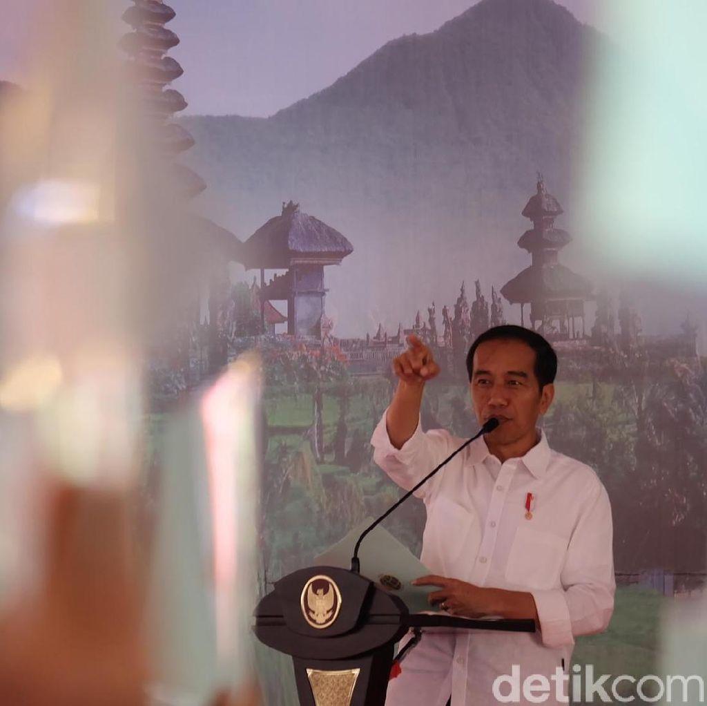 Momen Jokowi Pidato di Lokasi Perang Puputan
