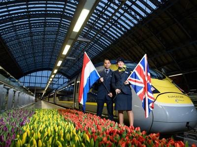 April 2018, Eurostar London-Amsterdam Mulai Beroperasi