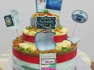 Sulap Nasi Uduk Jadi Kue Cantik, Wanita Ini Raup Rp 100 Juta/Bulan