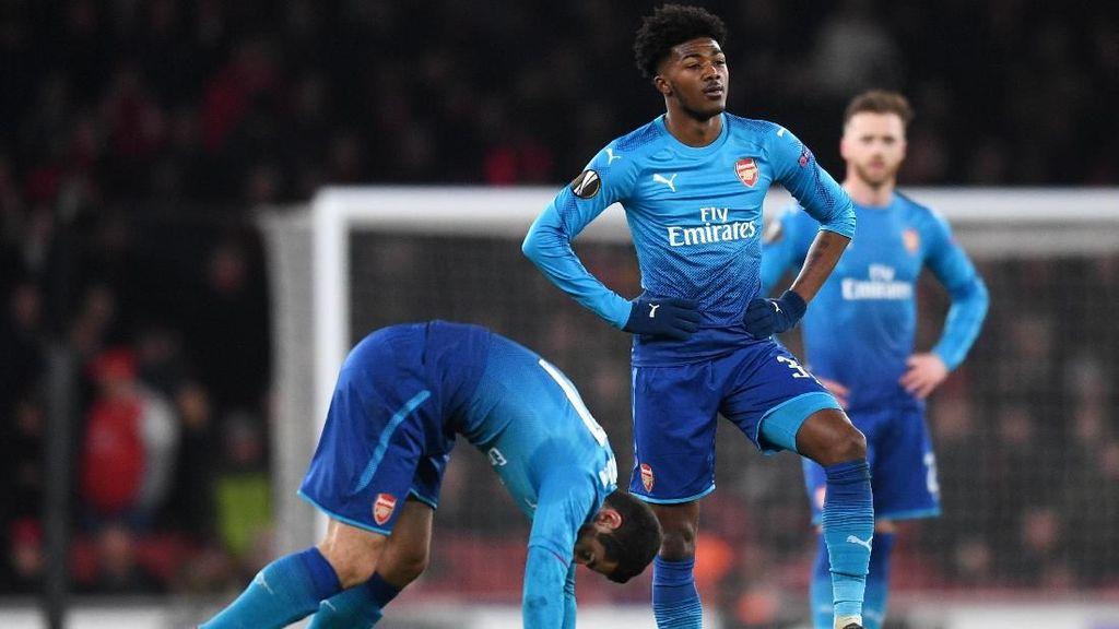 Foto: Kekalahan Mengejutkan Arsenal