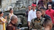 Usai Diumumkan Jadi Capres PDIP, Jokowi Kerja Pakai Udeng Merah