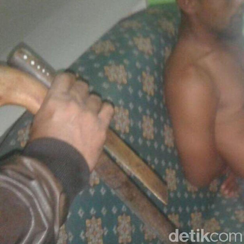 Masuk Area Ponpes di Bogor, Pria Bawa Golok Ditangkap Warga