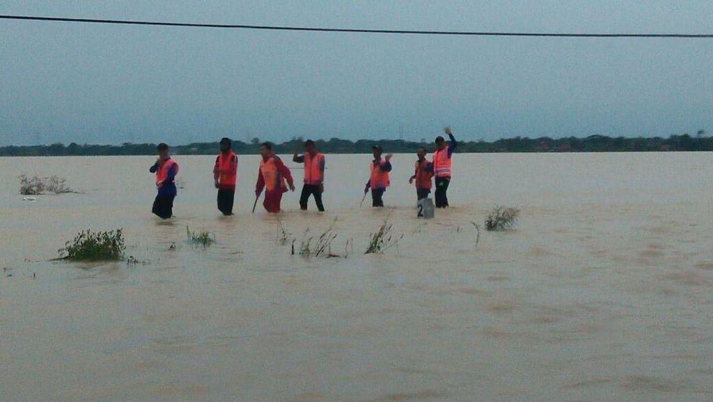Masih Banjir, Perjalanan Kereta Api Jalur Utara Belum Normal