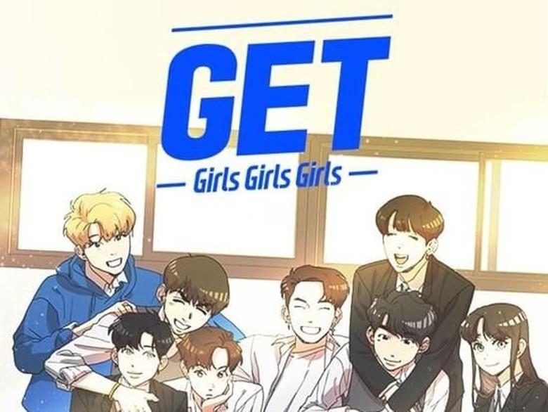 Wow! GOT7 Punya Webtoon Sendiri