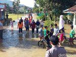 Ratusan Rumah di Desa Tanjungsari Tasikmalaya Terendam Banjir