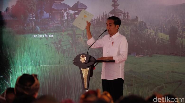 Saat Jokowi Merasa Terhormat Pidato di Atas Lokasi Perang Puputan