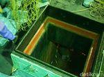 Cek Muatan Kapal Diduga Angkut Sabu, Anjing Pelacak Dikerahkan