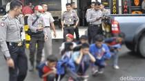 Bawa Gir, Pelajar di Sukabumi Diamankan Patroli Polisi