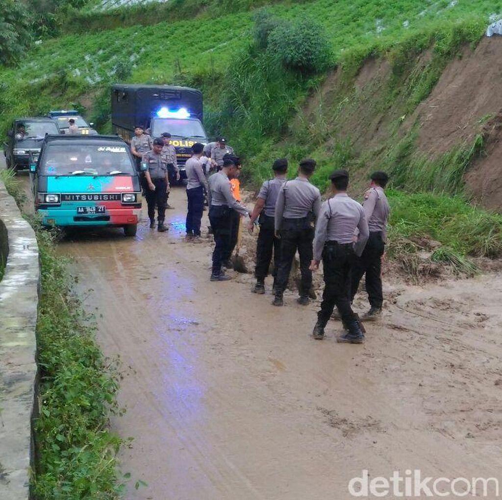 Curah Hujan Tinggi, Longsor Terjadi di Sejumlah Titik di Boyolali