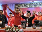 Antusias Saat Diumumkan Jadi Capres PDIP, Jokowi Teriak Metal