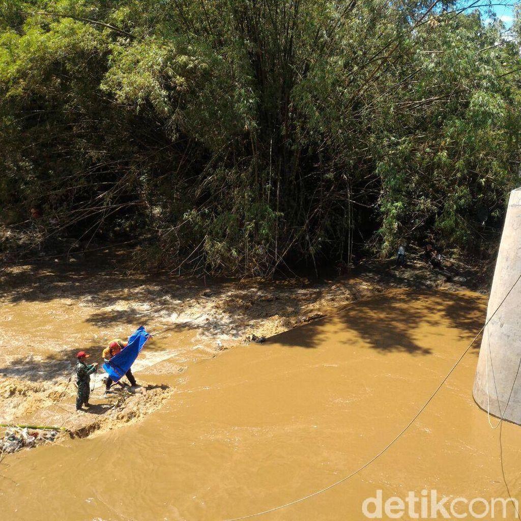 Sesosok Mayat Tanpa Busana Ditemukan Hanyut di Sungai Pepe Boyolali