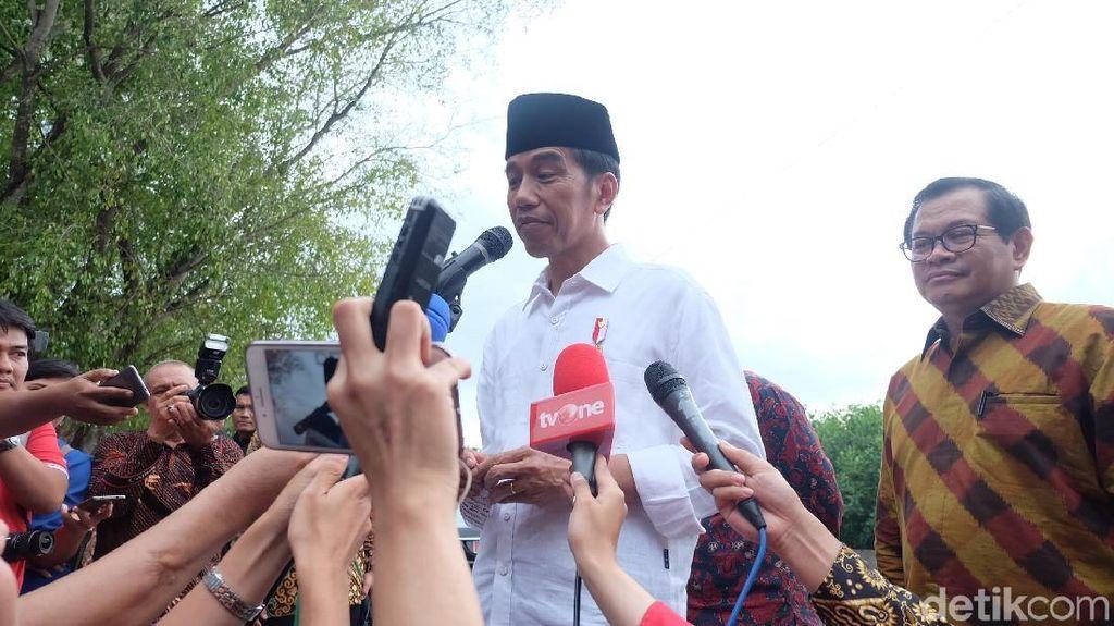 Jokowi Puji Pengungkapan 1,6 Ton Sabu: Itu Dirupiahkan Triliunan