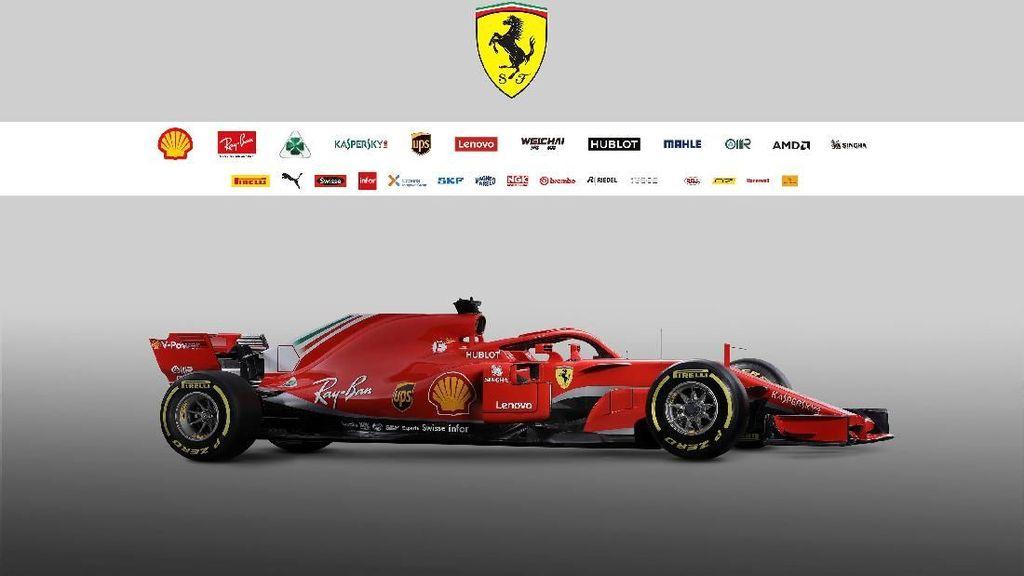 Ferarri Perkenalkan SF71H, Mobil Baru untuk F1 2018