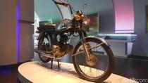 Motor Honda Pertama yang Dirakit di RI, Odometernya Baru 11 Km
