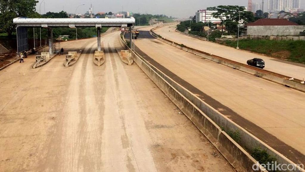 Pembangunan Tol Cijago Sudah Sampai Kukusan