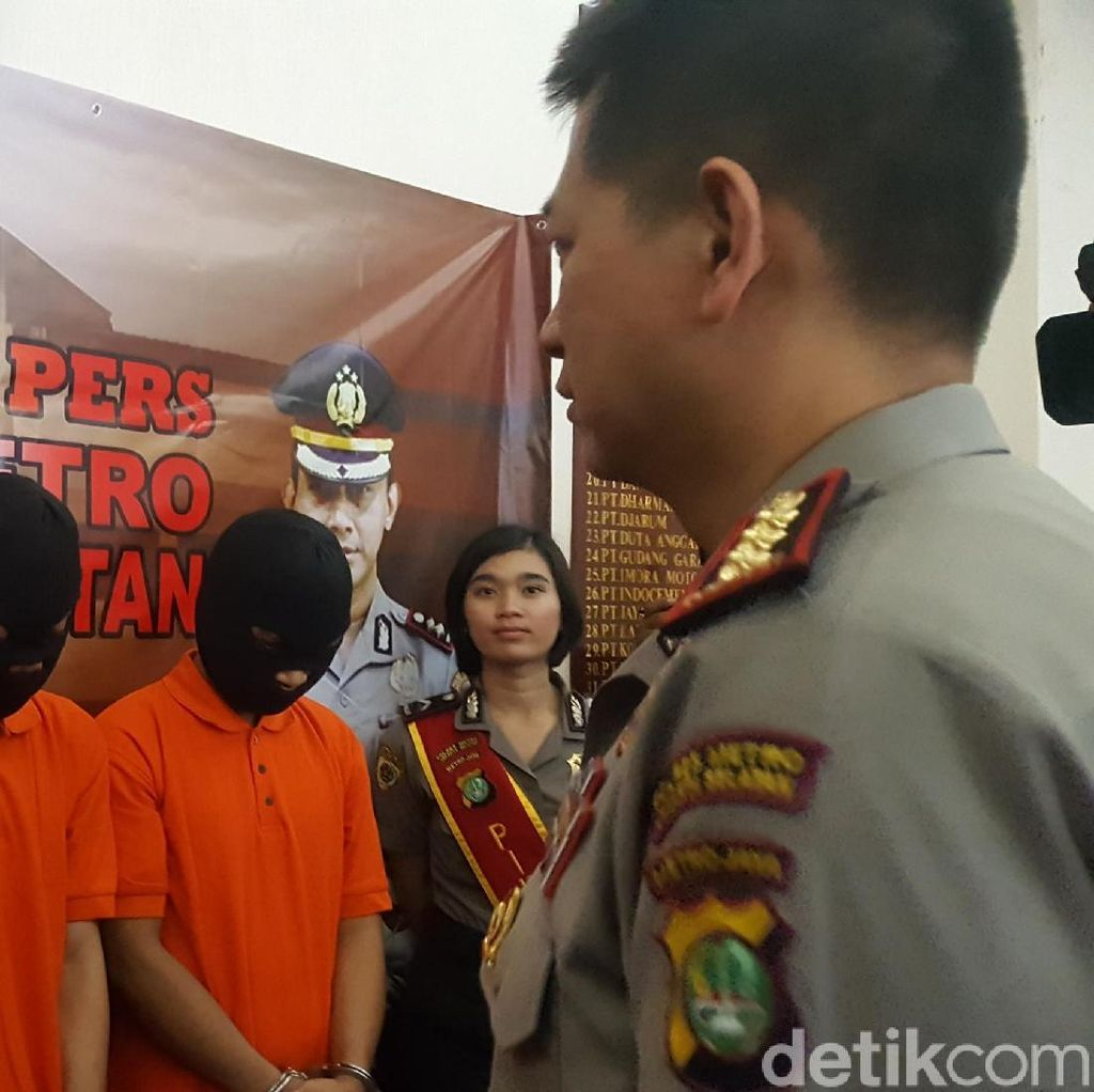 Polisi Tangkap Pencuri yang Telanjangi Ongky di Kemang